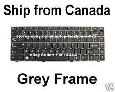 Lenovo V370 Keyboard - Grey Frame - US English
