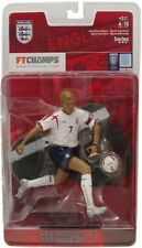 David Beckham England National Team action figure NIB FT Champs Three Lions NIP