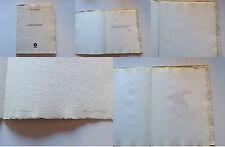 OMAR GALLIANI Annunciazione - Drehscheibe - 1979 Originale Autografato RARO