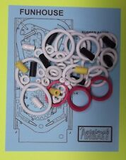 1990 Williams Funhouse pinball rubber ring kit FH