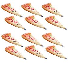 12 PCS Novelty Cute Pizza With Magnet Ballpoint Pen School Office Kids Toy Gift