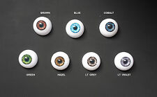 Doll Eyes - #FC Half-Round Acrylic 14mm: CHOICE of color.