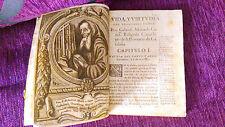 VIDA VIRTUDES DEL VENERABLE GABRIEL MACIA CANET, FR.ATHANASIO B, JUAN MACIA 1721