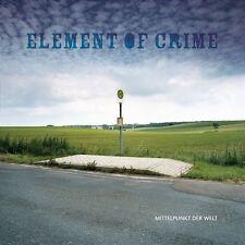 """ELEMENT OF CRIME """"MITTELPUNKT DER WELT"""" LP VINYL NEU"""