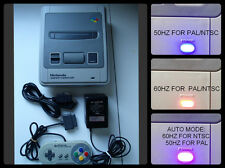 SUPER FAMICOM 50/60 HZ PAL/NTSC COMPLETE WITH PAD, RGB CABLE, PSU SNES NINTENDO