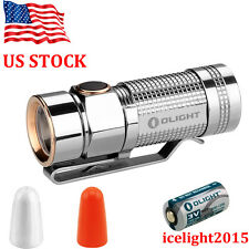 US stock Olight S1 TI Titanium 480 Lumens Cree XM-L2 EDC LED Flashlight CR123A