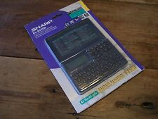 ELECTRONIC ORGANIZER - SHARP EL - 6520B - MEMO MASTER 11KB - NEW in wrap