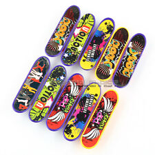 10PCS Finger Board Tech Deck Truck Mini Skateboard Toy Boy Kids Children Gift