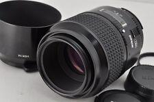 Nikon AF MICRO NIKKOR 105mm F2.8D AF Lens for F Mount w/ Filter Hood #170105m