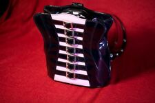 Demonia Corset Handbag Purse - Goth Rock Punk Fetish Club Vegan - BRAND NEW!