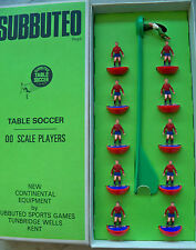 SUBBUTEO TEAM SPAGNA HW REF N.48 PLAYERS AND LONG BOX WITH REF MINT IMMACULATE