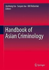 NEW - Handbook of Asian Criminology