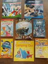 Collection 8 Childrens Books Astro Boy Wild Whale Watch Golden Compass FREE POST