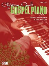 Christmas Carols for Gospel Piano Sheet Music Piano Solo SongBook NEW 002501687