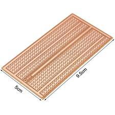 10X PCB Board Circuito Stampato Stripboard Breadboard per Arduino PIC 100*50mm