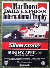 SILVERSTONE MARLBORO DAILY EXPRESS INTERNATIONAL TROPHY PROGRAMME 1 APR 1984