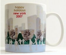 Starbucks Mug Global Icon Collector Series Happy Holiday 2007 New York City 16oz