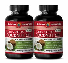 Coconut Oil For Skin - EXTRA VIRGIN COCONUT OIL 3000 - Coconut Oil Capsules 2B