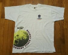 NASA Apollo Lunar Exploration t shirt XL Kennedy Space Center white VTG 90s rare