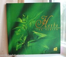 TG ✈THAI AIRWAYS ✈ AIRLINES ✈ COLLECTIBLE  ✈ HERBS FOR HEALTH BOOKLET ✈