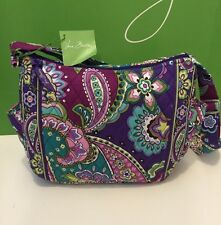 NWT Vera Bradley On the Go Handbag In Heather