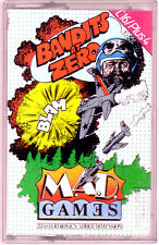 Bandits at Zero (Mastertronic M.A.D) Commodore 16 +4 - GC & Complete