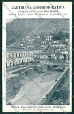 Ragusa Modica Alluvione 1902 cartolina QQ0623