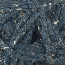 James C Brett Rustic Mega Chunky Knitting Wool Yarn - Navy (100g) CS9