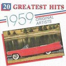 20 Greatest Hits 1959 CD Various Artists 1994 Drifters Shirelles  Oldies