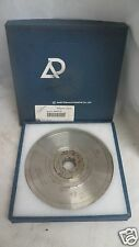 Asahi Diamond Wheel SD800-11V-0.25R, 4 Groove Grind Wheel