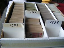 1981, 1982, 1984 Topps - Complete Your Set - You Pick 25 Cards Mnt/Mt