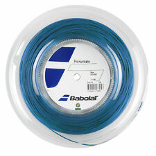 BABOLAT PRO HURRICANE blu 1.25mm/17g Tennis Stringa 200m Reel-GRATIS UK P & P