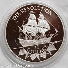 1992 Plata Niue $10 moneda de prueba la resolución-Bajo Acuñación
