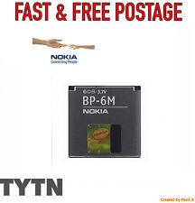 GENUINE NOKIA (BP-6M) BATTERY FOR N73 N77 N93 6280 9300 6288 6233 6234