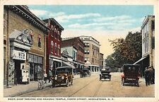 1924 Cars Stores Show Stop Theatre & Masonic Temple Middletown NY Orange county