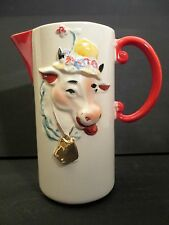 Regal China Old McDonald Farm Milk Pitcher --- Extremely Rare