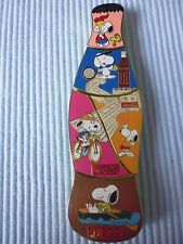 1  COCA COLA  DISNEY SNOOPY PUZZLE PIN BOTTLE LIMITED EDITION 100