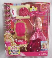 Barbie Princess Charm School Blair Pink Mini Set 2 Student Looks