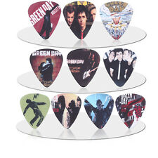 10pcs 0.71mm New Popular Cool Green day Rock Band Guitar Picks Musical Plectrums