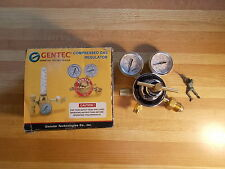NEW Gentec 452IN-175 Compressed Gas Regulator Assembly  *FREE SHIPPING*