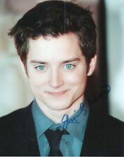 ELIJAH WOOD Signed 10x8 Photo FRODO In LORD OF THE RINGS COA