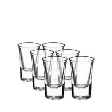 NEW Bormioli Rocco Dublino Shot Glass 34ml Set of 6