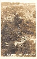 C27/ Davis Oklahoma Ok Photo RPPC Postcard c40s Collin Summer Home Turner Falls