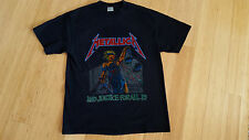RePrint VTG 1989 Metallica And Justice For All Tour Concert Shirt Queensryche