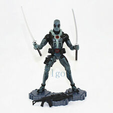 "Hasbro Deadpool Figure Grey X-Force Suit Marvel Legends Epic Heroes 6"" Toy RARE"