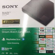 NEW Sony BDP-S3700 Streaming Blu-Ray Disc DVD Player Wi-Fi Wireless Quick Start