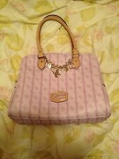 NWT GUESS JASLEEN LILAC PURPLE DOME SATCHEL SHOULDER BAG