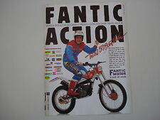 advertising Pubblicità 1989 MOTO FANTIC TRIAL 50