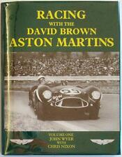 RACING WITH THE DAVID BROWN ASTON MARTINS VOL 1 JOHN WYER CHRIS NIXON BOOK