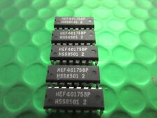 Hef40175bp QUADRUPLO D-TYPE FLIP-FLOP PHILIPS dip-16. UK Stock. ** 3 per ogni vendita **